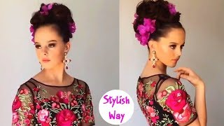 LONG HAIRSTYLES TUTORIAL By Ulyana Aster