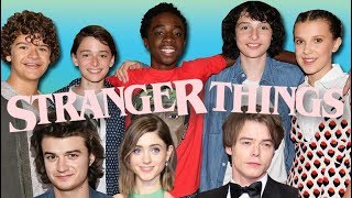 Stranger Things Cast Bloopers & Funny Moments
