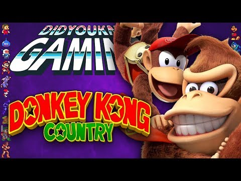 Donkey Kong Country Tropical Freeze Returns DidYouKnowGaming TheCartoonGamer Nintendo Switch