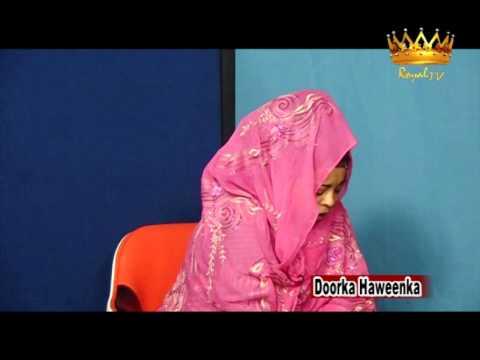 Barnamij Program Doorka Haweenka Royal TV 28 05 12