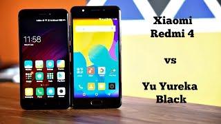 Xiaomi Redmi 4 vs Yu Yureka Black Comparison