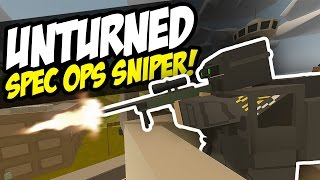 SPEC OPS SNIPER - Unturned PVP (Sniping)