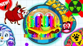 PUMBA 500,000 SUBSCRIBERS ! SPECIAL VIDEO FOR PUMBA - Agar.io / Slither.io / Diep.io