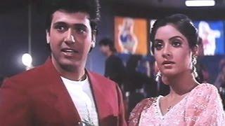 Govinda, Divya Bharti - Shola Aur Shabnam Comedy Scene - 8/20