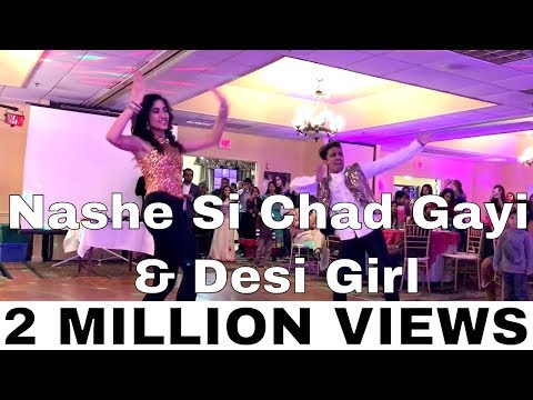 Desi Girl ,  Nashe si Chadh Gayi  and Kala Chashma Dance | Bollywood Dance Video