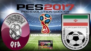 PS4 PES 2017 Gameplay Qatar vs Iran HD