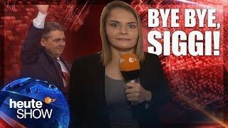 Hazel Brugger auf dem SPD-Parteitag: Schulz ist Kanzlerkandidat | heute-show vom 24.03.2017