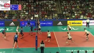Usa - Iran M VNL 2018 - Full Match Highlights - HD