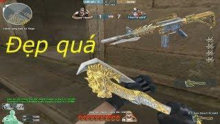 [ Bình Luận CF ] M4A1-S Predator Noble Gold - Tiền Zombie v4