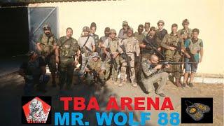 AIRSOFT TBA ARENA 01/08/2015 MR.WOLF 88 -HIENAS-