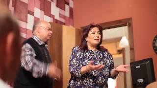 """كوميديا """" علاء زينهم"""" و"""" سلوى عثمان """" من كواليس مسلسل يوميات زوجة مفروسة  - Youmyat Zoga Mafrosa"""