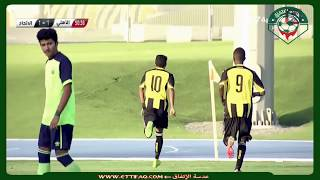 أهداف مباراة  الإتحاد و الأهلي  3-3 | الدوري السعودي الممتاز للشباب  2017/2018