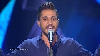 ذا فويس - أحمد الحلاق - يمر عجبا - مرحلة الصوت وبس - احلي صوت The Voice