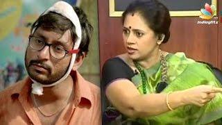 Lakshmi Ramakrishnan questions RJ Balaji for mocking reality show   Kadavul Irukan Kumaru   Hot News