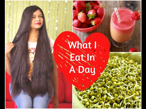 What I Eat In A Day For HEALTHY LONG HAIR| Cook Indian Food With Me| Sushmita's Diaries