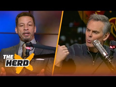 Chris Broussard on Isaiah Thomas after his Los Angeles Lakers debut THE HERD