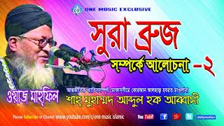 Bangla Waz Abbasi | Surah Al-Buruj Er Bangla Tafsir - 2 | বাংলা ওয়াজ আব্বাসী