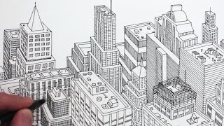 How to Draw a City in 3D: Simple Shapes