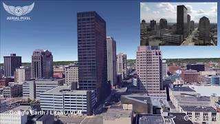Litchi Drone Hyperlapse Planning Using DJI Drones VLM (Virtual Litchi Mission) and Google Earth