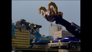 Power Rangers Operation Overdrive - Behind the Scenes - Megazord Fight (Episode 15)