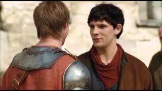 Merlin Funny momets ITA 1x01 parte1