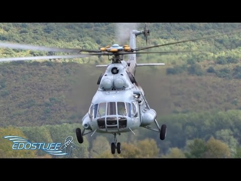 EPIC! Mil Mi-8 Low Pass - HRZ/CAF - Piket Airfield LDSS