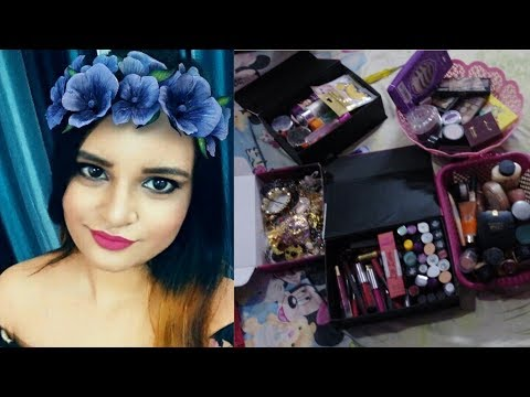 MAKEUP IN MESS||MY ARRANGED MAKEUP COLLECTION||PIMPLES ALERT!!||COOKING DINNER