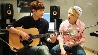 Henry 헨리_'1-4-3 (I Love You)'_Acoustic Version with Chan Yeol of EXO