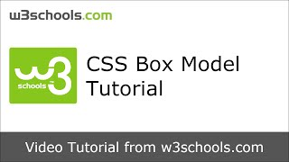 W3Schools CSS Box Model Tutorial