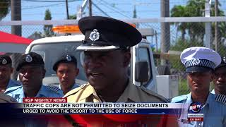 TRAFFIC COPS ARE NOT PERMITTED TO SEIZE DOCUMENTS