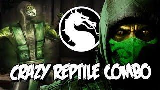 CRAZY REPTILE COMBO: Mortal Kombat X - Online Ranked Matches