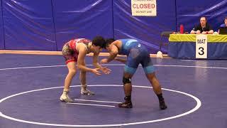 2017 SFU International: 57 kg Kye Mills vs. Darthe Capellan