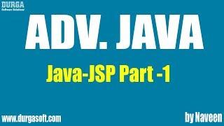 Adv Java-JSP-Part 1