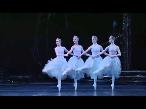 Extracto Lago de los Cisnes Royal Ballet Pas de quatre 2009 Swan Lake