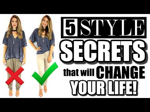 Xxx Mp4 5 STYLE SECRETS THAT WILL CHANGE YOUR LIFE 3gp Sex