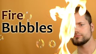 What Will Happen If You Fill Soap Bubbles with Gas?