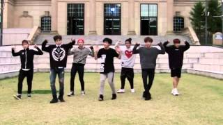 BTS - War of Hormone Mirrored Dance Practice
