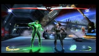 Injustice Gods Among Us Aquaman vs Green Lantern XBOX 360 PS 3