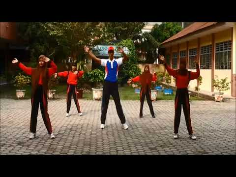 Senam Gemu Fa Mi Re + Pinguin dance Senam terbaru SMP Dharma Pancasila Medan