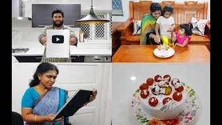 Celebrating Silver Play Button With Gulab Jamun Cake Recipe #YouTubeCreatorAwards