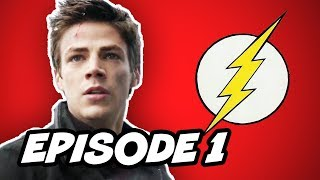 The Flash Episode 1 - TOP 10 Comic Book Easter Eggs