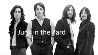 Beatle's Solo LPs # 1 - Junk in the Yard 1970 12
