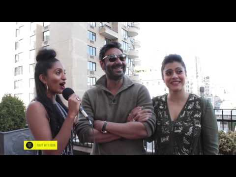 Director, Producer & Actor Ajay Devgn & Bollywood Icon Kajol visit NYC to promote film