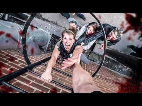 Zombie Chase Parkour POV - Last