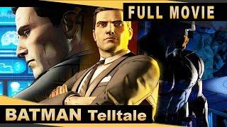 Batman: The Telltale Series (PC) - Full Movie - All Episodes - Walkthrough [HD]