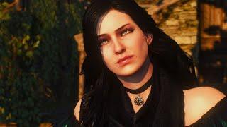 Triss & Yennefer Romance Scene | Witcher 3