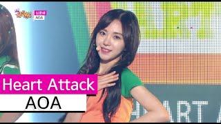 [HOT] AOA - Heart Attack, 에이오에이 - 심쿵해, Show Music core 20150718