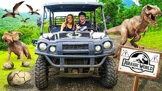 EPIC ATV RIDE Through JURASSIC WORLD In HAWAII