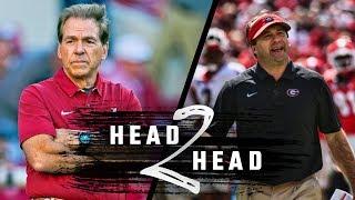 Head to Head: Alabama vs. Georgia