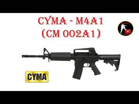 [ОБЗОР] CYMA - M4A1 CM 002A1 AEG airsoft (страйкбол)